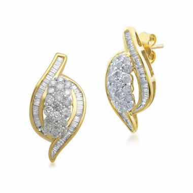 jcpenney.com | Diamond Blossom 1 CT. T.W. Round White Diamond 10K Stud Earrings