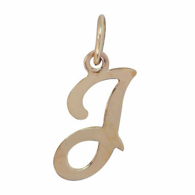 jcpenney.com | Personalized 14K Yellow Gold Initial I Pendant Necklace