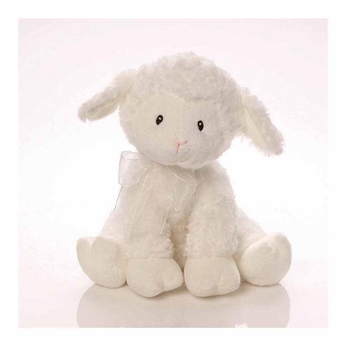 Baby Gund® Lena Musical Lamb Plush - Brahms Lullaby
