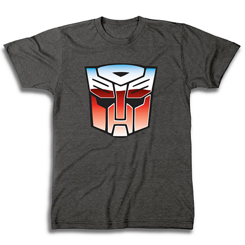 Short Sleeve Transformers Graphic T-Shirt