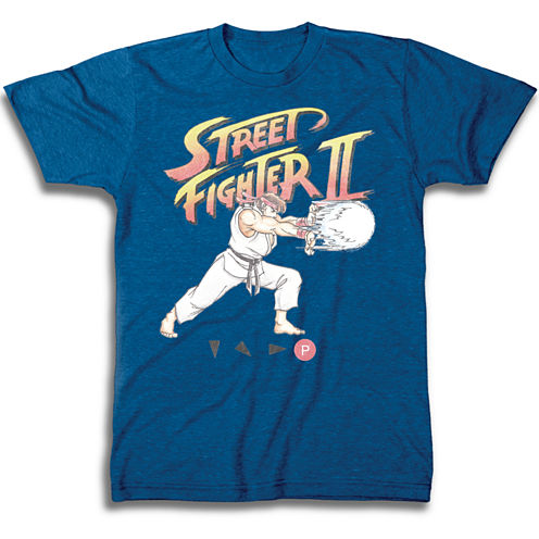 Street Fighter II Graphic T-Shirt