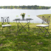 Carolina Chair & Table 3-pc. Bistro Set