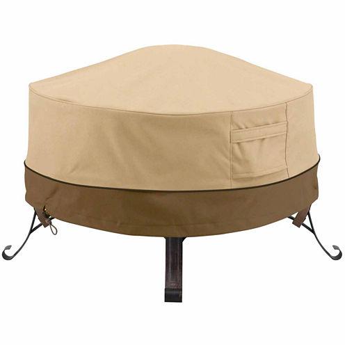 Classic Accessories® Veranda Round Full Coverage Fire Pit Cover Small