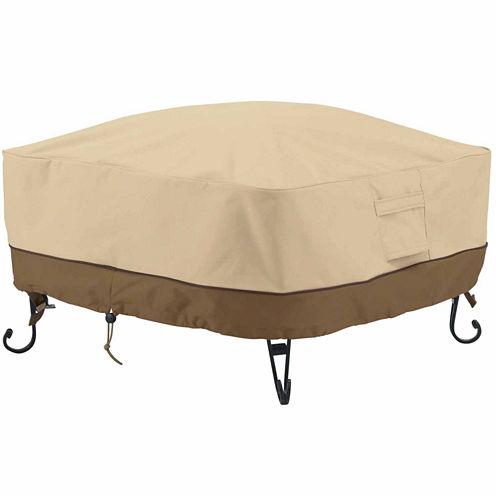 Classic Accessories® Veranda Square Full Coverage Fire Pit Cover Small