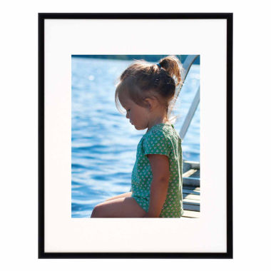 "jcpenney.com | Artcare 11x14"" Studio Matte Black Wall Frame, Matted To 8x10"""