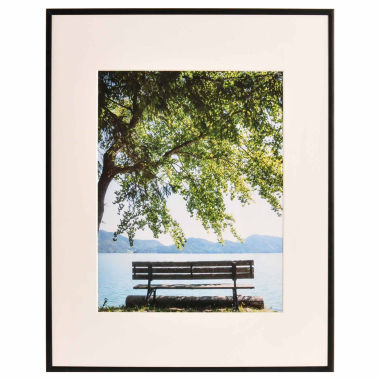 "jcpenney.com | Artcare 16x20"" Studio Matte Black Wall Frame, Matted To 11x14"""
