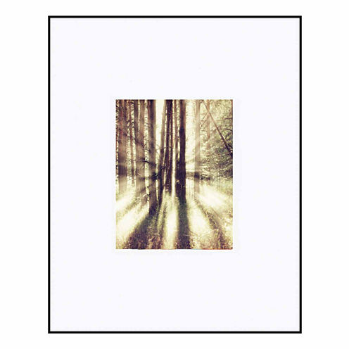 """Artcare 16x20"""" Photography Aluminum Wall Frame, Matted To 8x10"""""""