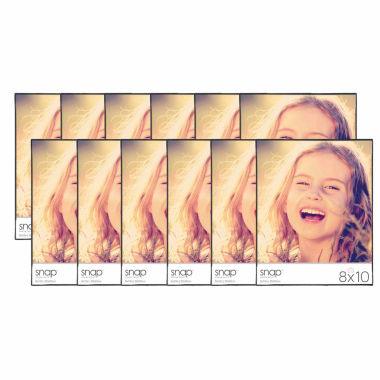 "jcpenney.com | Snap 8x10"" Front Loading Frame- Set of 12"""
