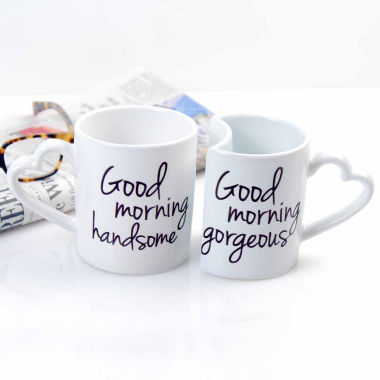 jcpenney.com | Cathy's Concepts 10 oz Good Morning Coffee Mug Set