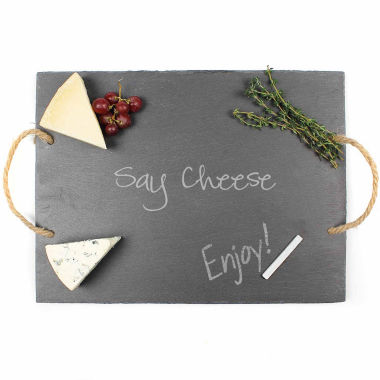 jcpenney.com | Cathy's Concepts Say Cheese Slate Serving Board