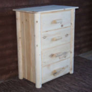 Frontier Pine 4-Drawer Chest