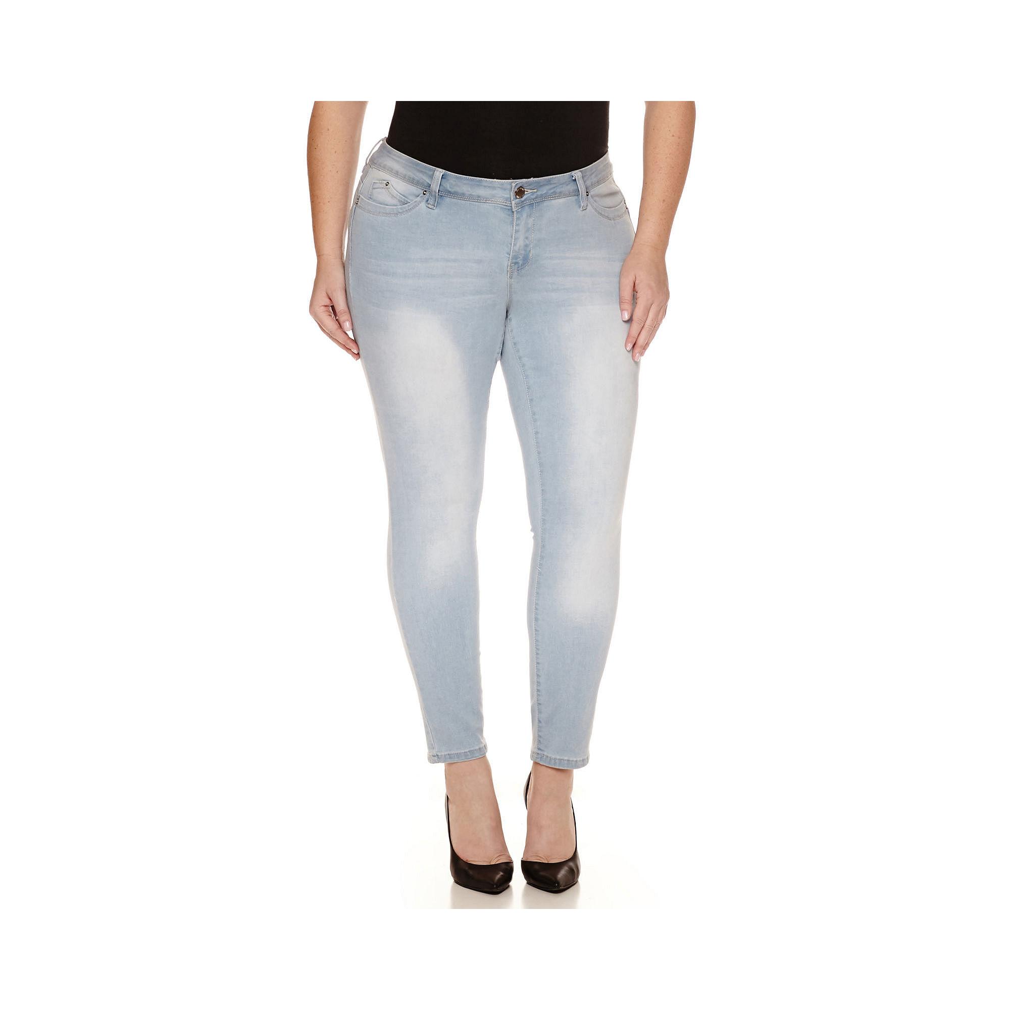 YMI Wanna Betta Butt Skinny Jeans - Juniors Plus plus size,  plus size fashion plus size appare