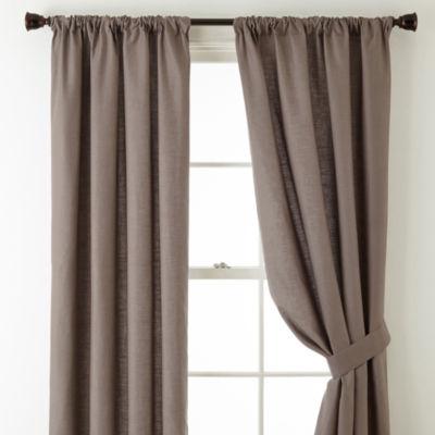 Linden Street Vista Rod Pocket Curtain Panels Jcpenney
