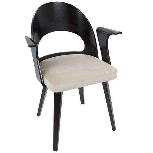 Verino Mid-Century Upholstered Arm Chair
