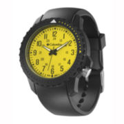 Columbia Sportswear Co.® Urbaneer III Mens Yellow Dial Sport Watch