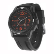 Columbia Sportswear Co.® Descender Mens Black Dial Watch