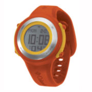 Columbia Sportswear Co.® Comet Womens Orange Silicone Chronograph Sport Watch