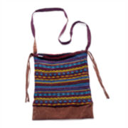 MUK-LUKS® Sweater Messenger Bag