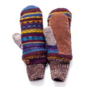 MUK-LUKS® Vintage Sweater Mittens