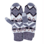 MUK-LUKS® Geotribal Button Mittens