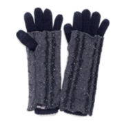 MUK-LUKS® Sprinkled Solid 3-in-1 Gloves