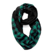 MUK-LUKS® Plaid Festival Eternity Scarf