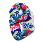 MUK-LUKS® Colorful Snowflake Eternity Scarf