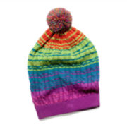 MUK-LUKS® Ombré Cable Slouch Beanie