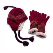 MUK-LUKS® Traditional Tassel Hat and Gloves Set