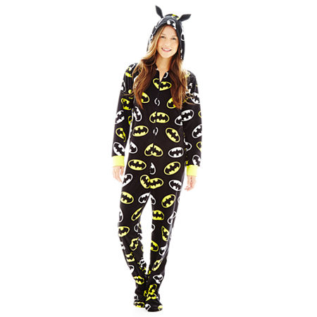 Disney Batman Fleece Onesie Pajamas - Juniors