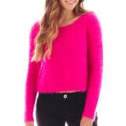 Decree® Long-Sleeve Eyelash Sweater