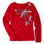 Total Girl® Long-Sleeve Graphic Tee - Girls 6-16