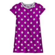 Okie Dokie® Short-Sleeve Pocket Sweater Dress - Girls 2t-6