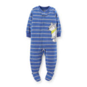 Carter's® Footed Microfleece Pajama – Boys 12m-24m