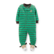 Carter's® Footed Moose Microfleece Pajama – Boys 12m-24m