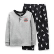 Carter's® 2-pc. Long-Sleeve Thermal Microfleece Pajama Set – Boys 2t-5t