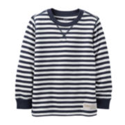 Carter's® Long-Sleeve Striped Thermal Tee – Boys 6m-24m