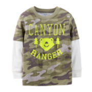 Carter's® Long-Sleeve Camouflage Tee – Boys 6m-24m