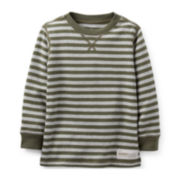 Carter's® Long-Sleeve Striped Thermal Tee – Boys 2t-4t