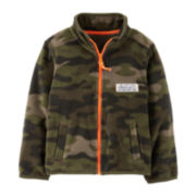 Carter's® Microfleece Zip-Front Active Jacket – Boys 2t-4t