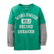 Carter's® Long-Sleeve Knit Graphic Tee – Boys 2t-4t