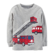 Carter's® Long-Sleeve Thermal Fire Truck Tee – Boys 2t-4t