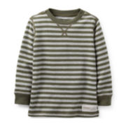 Carter's® Long-Sleeve Striped Thermal Tee – Boys 5-7