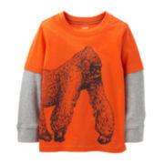 Carter's® Long-Sleeve Knit Gorilla Tee – Boys 5-7