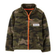 Carter's® Microfleece Zip-Front Active Jacket – Boys 5-7