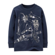 Carter's® Long-Sleeve Graphic Knit Tee – Boys 5-7
