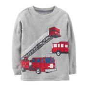 Carter's® Long-Sleeve Thermal Fire Truck Tee – Boys 5-7