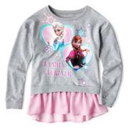 Disney Frozen Drop-Waist Sweatshirt - Girls 7-16