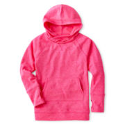 Xersion™ Fleece Tunic Hoodie - Girls 7-16 and Plus