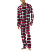 Stafford® Flannel Pajama Set–Big & Tall